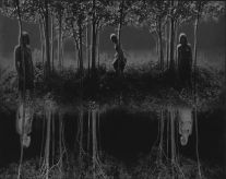 Small Woods Where I Met Myself, (Final version) (1967) by Jerry Uelsmann