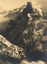 Half Dome in Winter, Yosemite (ca. 1928) by Ansel Adams
