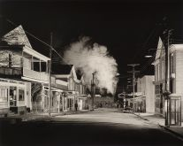 Ghost Town, Stanley, Virginia (1957) by O. Winston Link