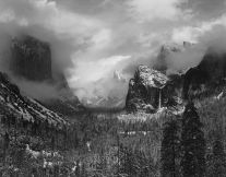 Clearing Winter Storm, Yosemite National Park (1940) by Ansel Adams