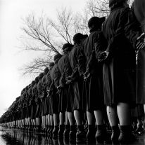 WAVES in Formation (women accepted for volunteer emergency service) (1942-45) by Wayne Miller