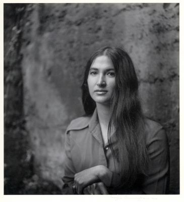 Portrait of Judy Dater (1971) by Imogen Cunningham
