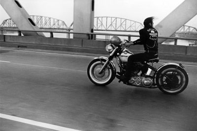 Crossing the Ohio, Louisville (1963-1967) by Danny Lyon