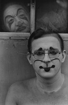 Untitled (makeup) from Circus Days (1971) by Jill Freedman