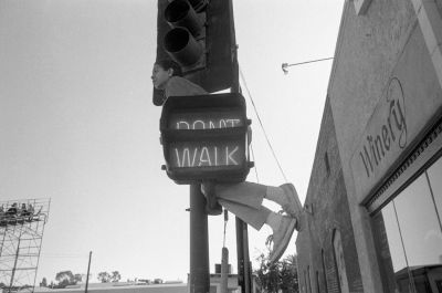 From Angel City West (don't walk angel) (1983) by Mark Steinmetz