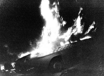 "Carbecue Plant from ""Cars Are Things"" (1971) by Daido Moriyama"