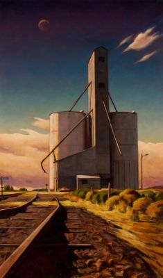 Elevator and Tracks (2013) by Daniel Robinson