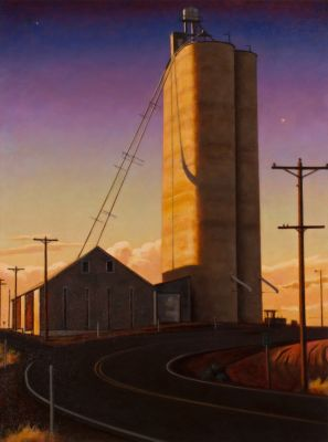 Elevator at Twilight (2013) by Daniel Robinson