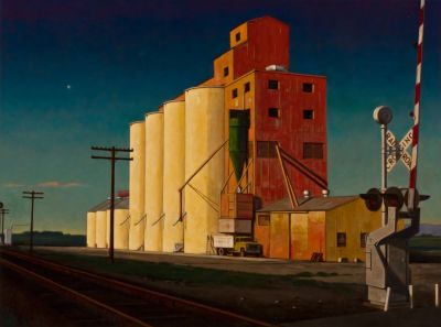 Granary Crossing (2013) by Daniel Robinson