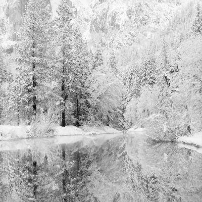 Snow Covered Reflections (2005) by Jeffrey Conley