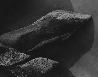 Gloucester Rocks (1944) by Aaron Siskind