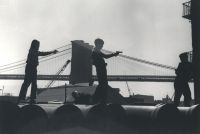 Kids - Guns, Brooklyn Bridge (1946-48) by Rebecca Lepkoff