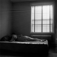 Eleanor and Barbara, Chicago (1954) by Harry Callahan