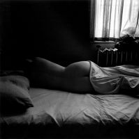 Eleanor, Chicago (1956) by Harry Callahan