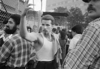 From Angel City West (hairnet) (1983) by Mark Steinmetz