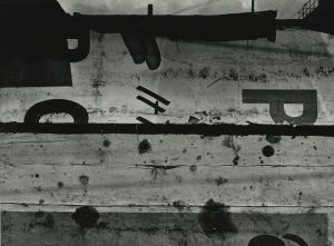 St. Louis (1954) by Aaron Siskind