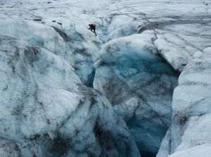 Crevasse Crossing (2013) by Corey Arnold