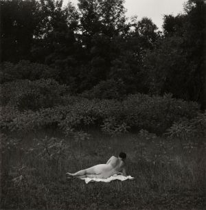 Eleanor, Port Huron (1954) by Harry Callahan