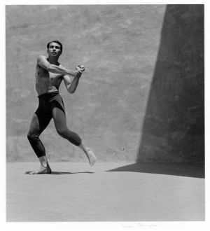 Jose Limon at Mills College (1939) by Imogen Cunningham