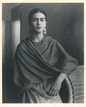 Portrait of Frida Kahlo (1931) by Imogen Cunningham