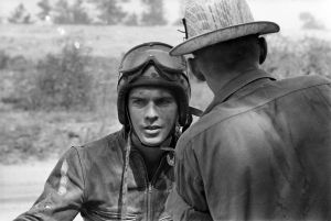 Racer, Griffin, Georgia  (1963-1967) by Danny Lyon