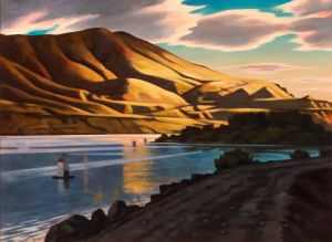 Gorge sunrise (2015) by Daniel Robinson