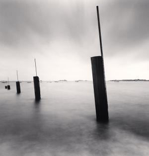Flooded Pier, Chausey Islands (2007) by Michael Kenna
