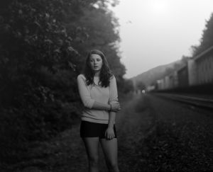Abbey, St. Helens Rail, July (2011) by Raymond Meeks