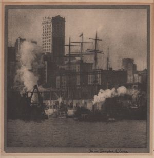 New York [from Camera Work, no. 21] (1908) by Alvin Langdon Coburn