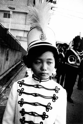 "Baton Twirler, from ""The Open Generation 49"" (1967) by Daido Moriyama"