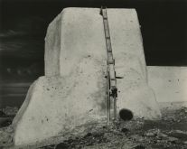 Church at Laguna, New Mexico (37A) (1933) by Edward Weston