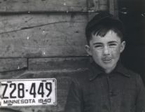 One of the McRaith grandchildren, Meeker Co., Minnesota (1942) by John Vachon