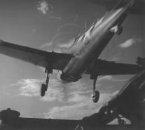 Pacific Theater, WWII (plane at take off) (1942-45) by Wayne Miller