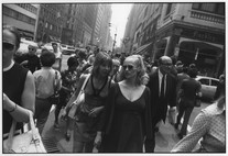 Untitled (Women Walking and Talking) (1971) by Garry Winogrand