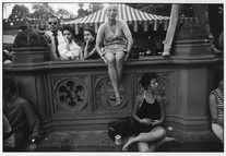 Untitled (Central Park, NewYork) (1969) by Garry Winogrand