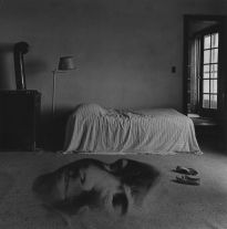 Untitled (bedroom) (1968) by Jerry Uelsmann