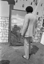 Untitled (funhouse mirror), from Carnival (1983) by Mark Steinmetz