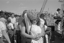 Untitled (hugging couple), from Carnival (1985) by Mark Steinmetz