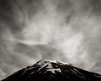 Figure and Mountain, Iceland (2017) by Jeffrey Conley