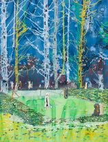 No Faded Forests (Spring) (2016) by Anna  Fidler