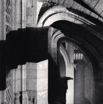 One a.m., Mont St. Michel (1998) by Michael Kenna