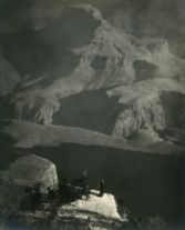 Sanctuary/The Grand Canyon (1921) by Anne W. Brigman