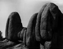Granite Dells (Arizona) 9 (1949) by Aaron Siskind