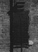 Untitled (brick wall) (1940s) by Aaron Siskind