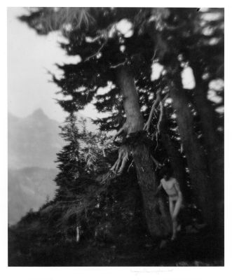 On Mount Ranier (#18) (1915) by Imogen Cunningham