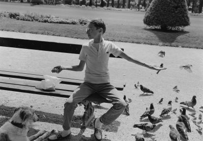 Champ de Mars (1985) by Mark Steinmetz