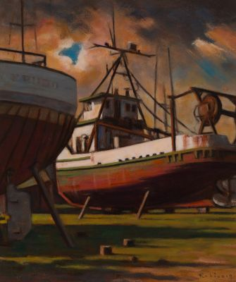 Wooden Boats (2017) by Daniel Robinson