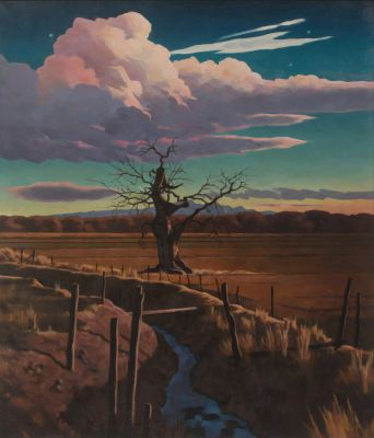 Tree Struck By Lightning (2008) by Daniel Robinson