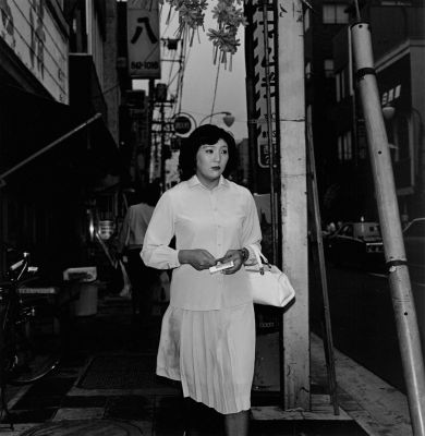 From Tokyokei (Woman walking) (1970's - 1980's) by Issei Suda