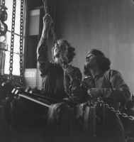 Pacific Theater, WWII (women on assembly line) (1942-45) by Wayne Miller